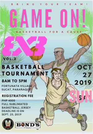Katabay 3x3 Basketball Tournament